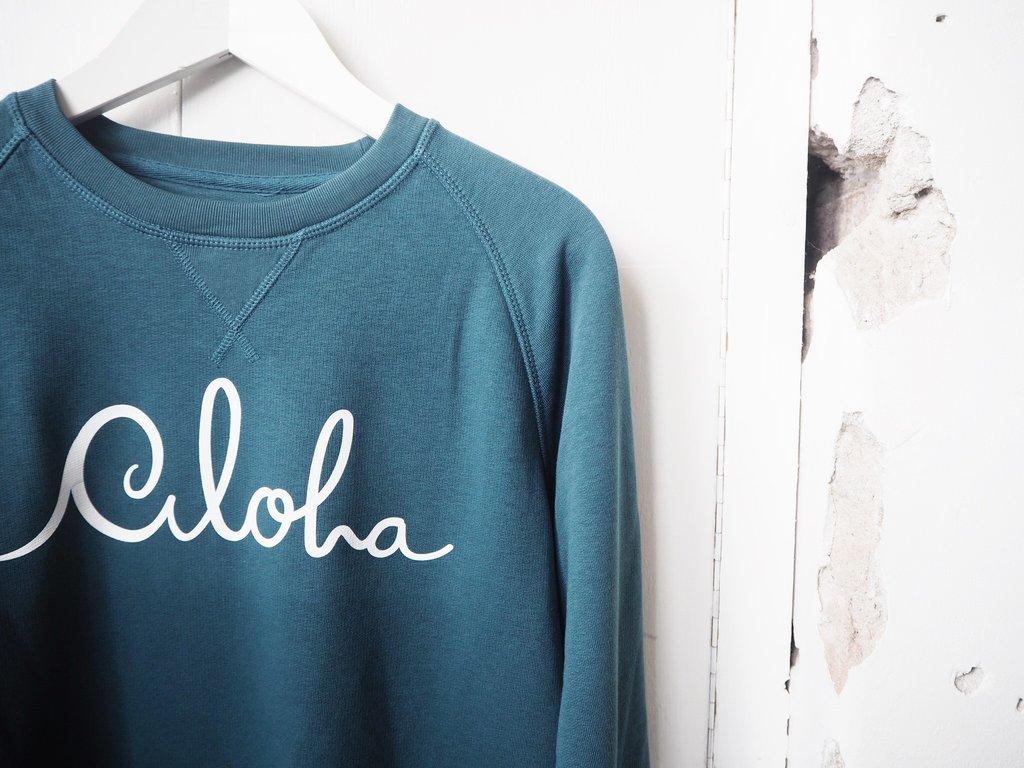 Aloha Sweater ~ Petrol – at Aloha Boutique